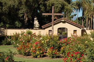 Mission Santa Clara de Asís was founded on January 12, 1777 and named for Clare of Assisi, the founder of the order of the Poor Clares. It is located on the grounds of Santa Clara University in Santa Clara, California.